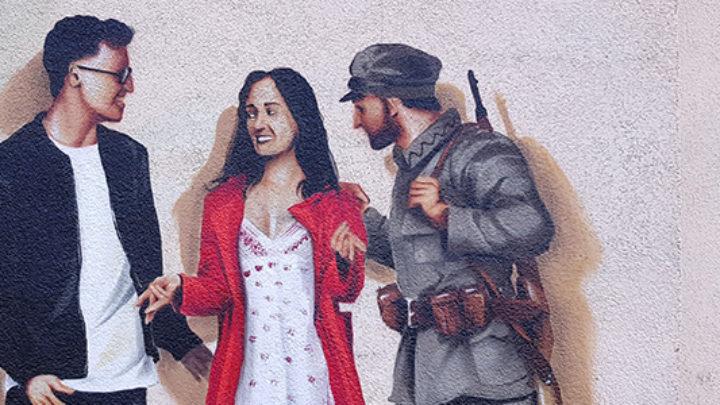 Łódzkie drogi do niepodległości w muralach #zostańwdomu